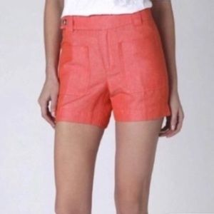 Anthro Daughters of the Liberation linen shorts